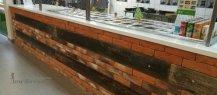 Столешница из искусственного камня в пиццерию