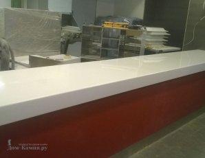 Стойка для KFC из искусственного камня