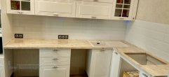 Столешница для кухни из искусственного мрамора