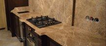 Столешница для кухни из мрамора Emperador Light