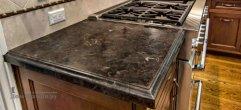 Столешница для кухни из гранита braun antik