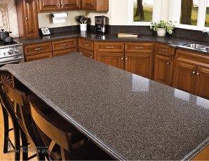 стол из искусственного камня для кухни
