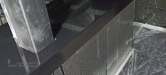 Барная столешница из черного искусственного камня