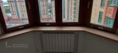 Подоконники для эркерного окна